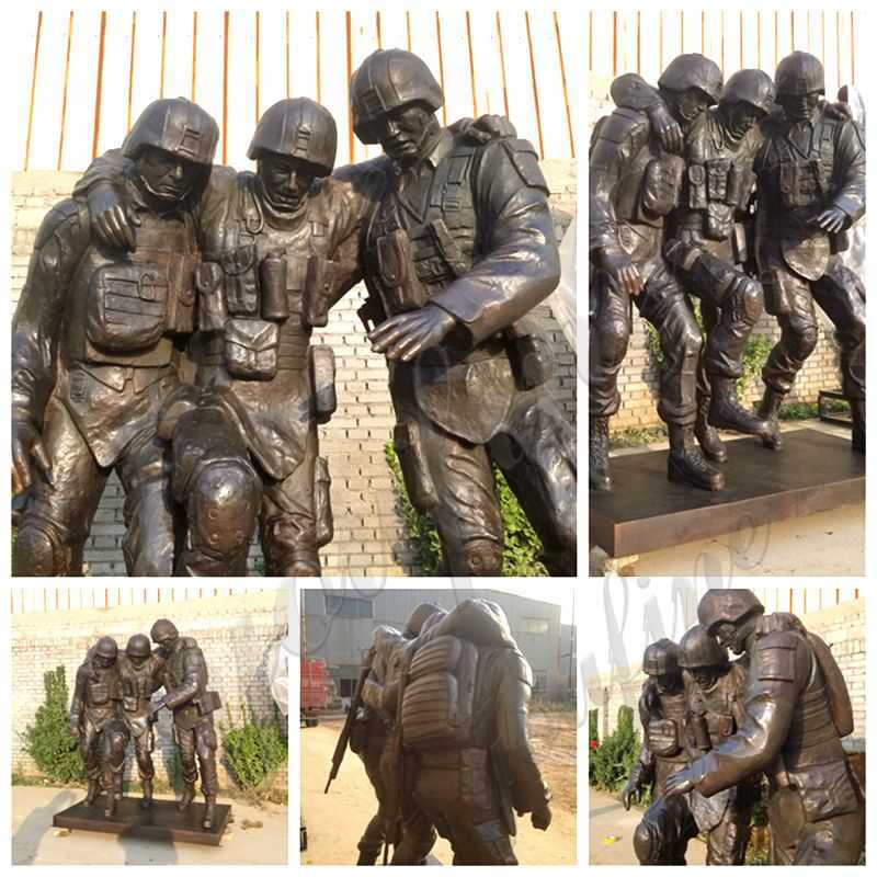 outdoor military statues for sale