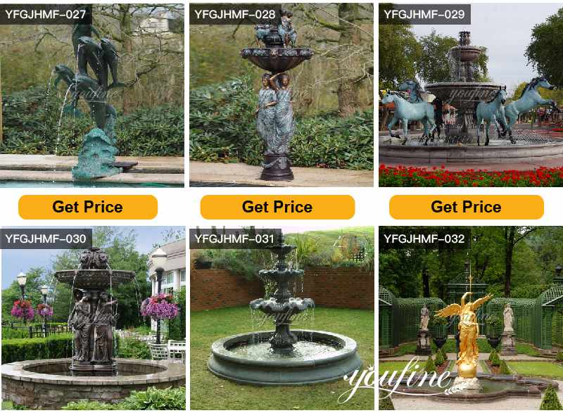 Antique Bronze Statues Fountain for Central Square Suppliers