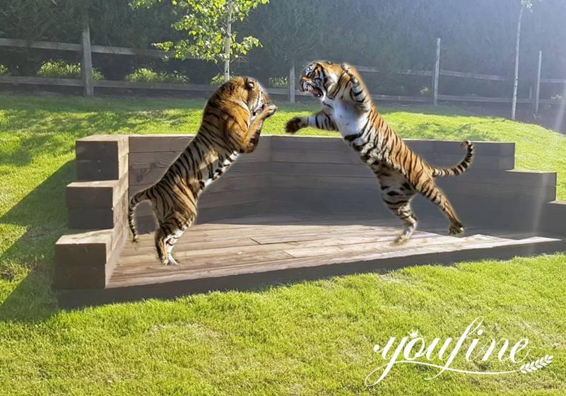 Bronze tiger statue for saleds