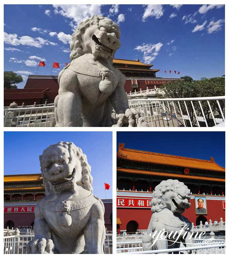 History of the Tiananmen Lions