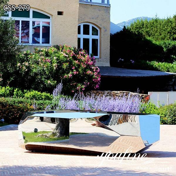 Metal Bench Seating Sculpture