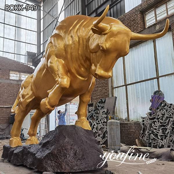 Outdoor Garden Large Bronze Bull Statue