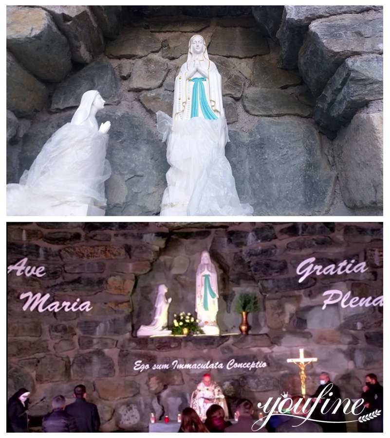 Religious marble garden statues for sale