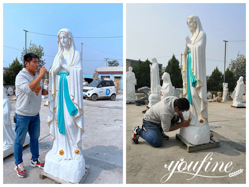 catholic our lady of Lourdes statue for sale
