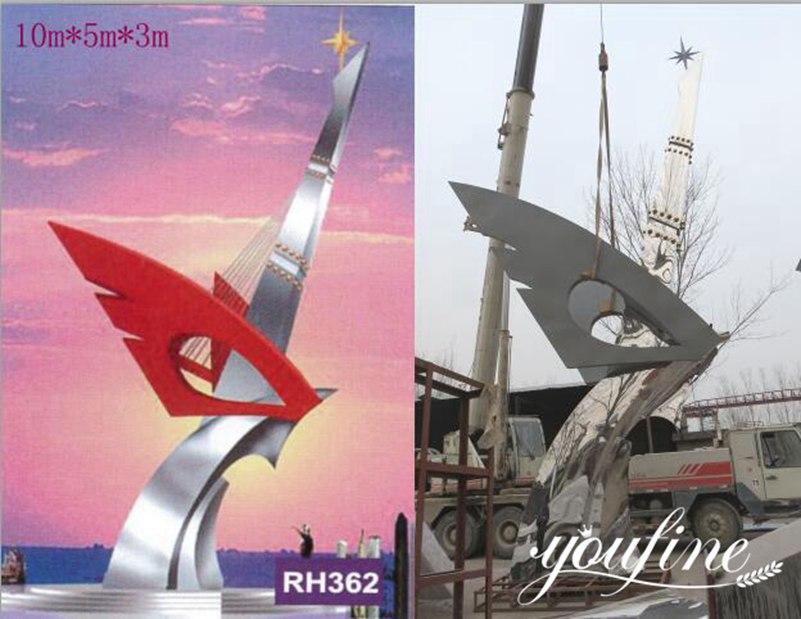 1modern large metal sculptures