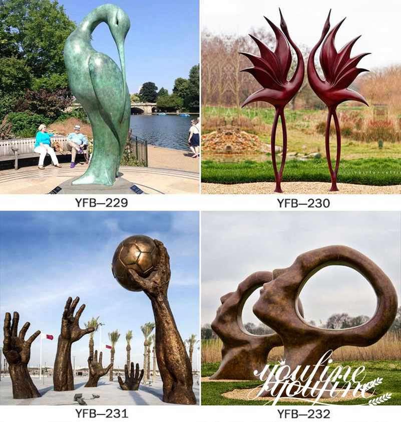 Bronze Sculpture for Outdoor Garden Sea Side Decor for Sale