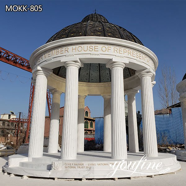 Outdoor Garden Marble Large Gazebo for Sale