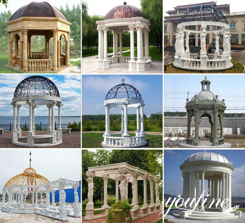 marble gazebo designs