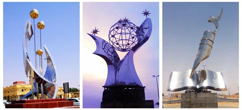 urban large metal sculptures for sale