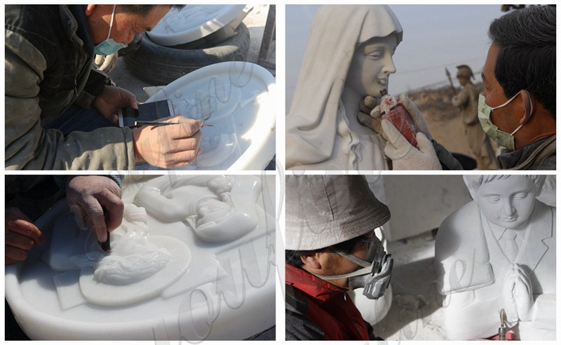 Church Marble Statues Process