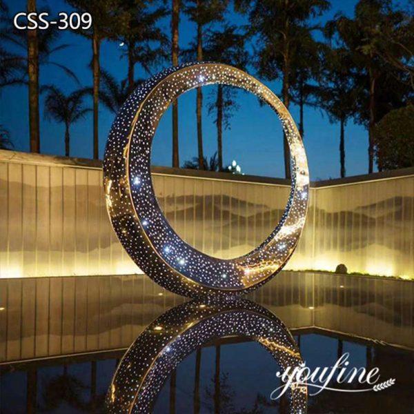Garden Metal Outdoor Light Sculpture for Sale CSS-309