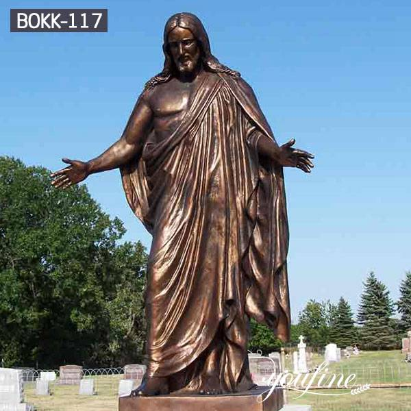 Life Size Bronze Jesus Statue Church Decoration for Sale BOKK-117