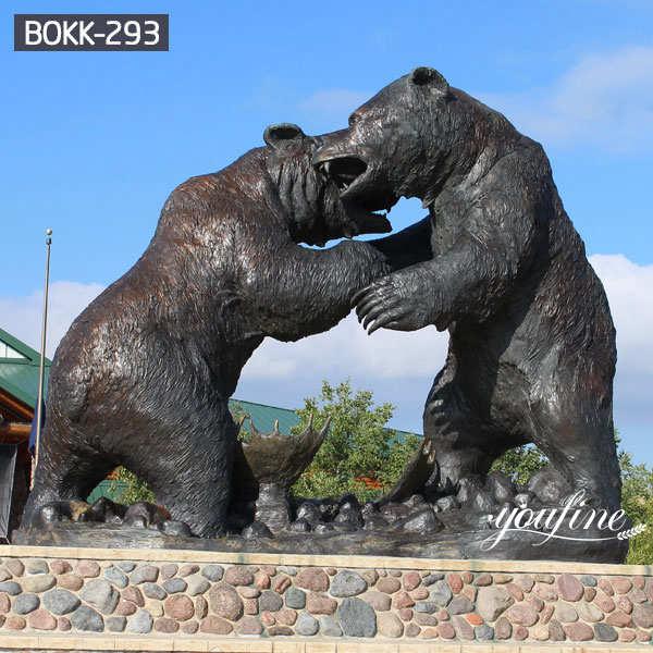 Large Casting Bronze Bear Statue for Sale BOKK-293