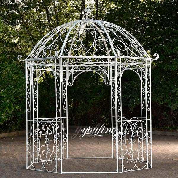 Large Size Iron gazebo Garden Decoration for Sale IOK-98
