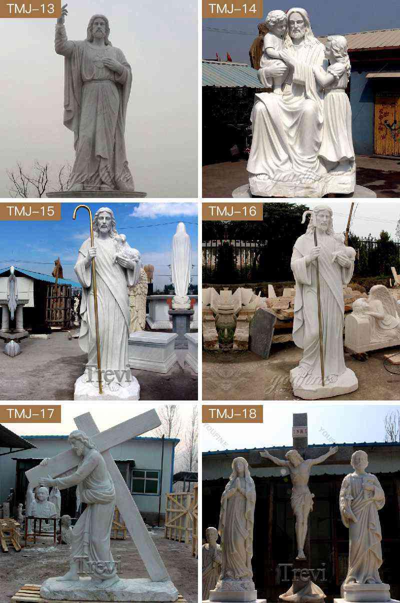 Outdoor Catholic Jesus Garden Statues for Sale