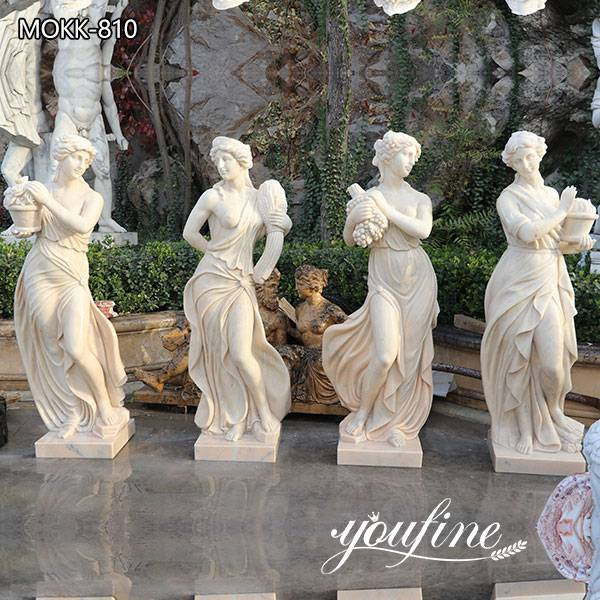 Outdoor Life Size Marble Four Season Garden Statues for Sale