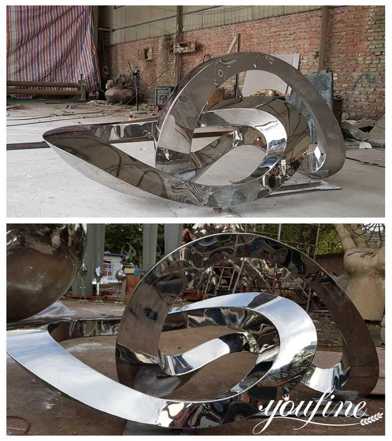 Outdoor Metal Sculptures for Backyard Garden