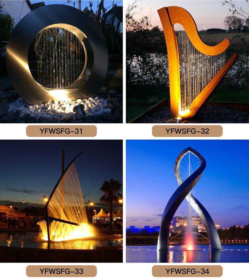 Outdoor light sculpture