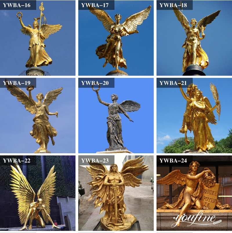 angel bronze statue for sale