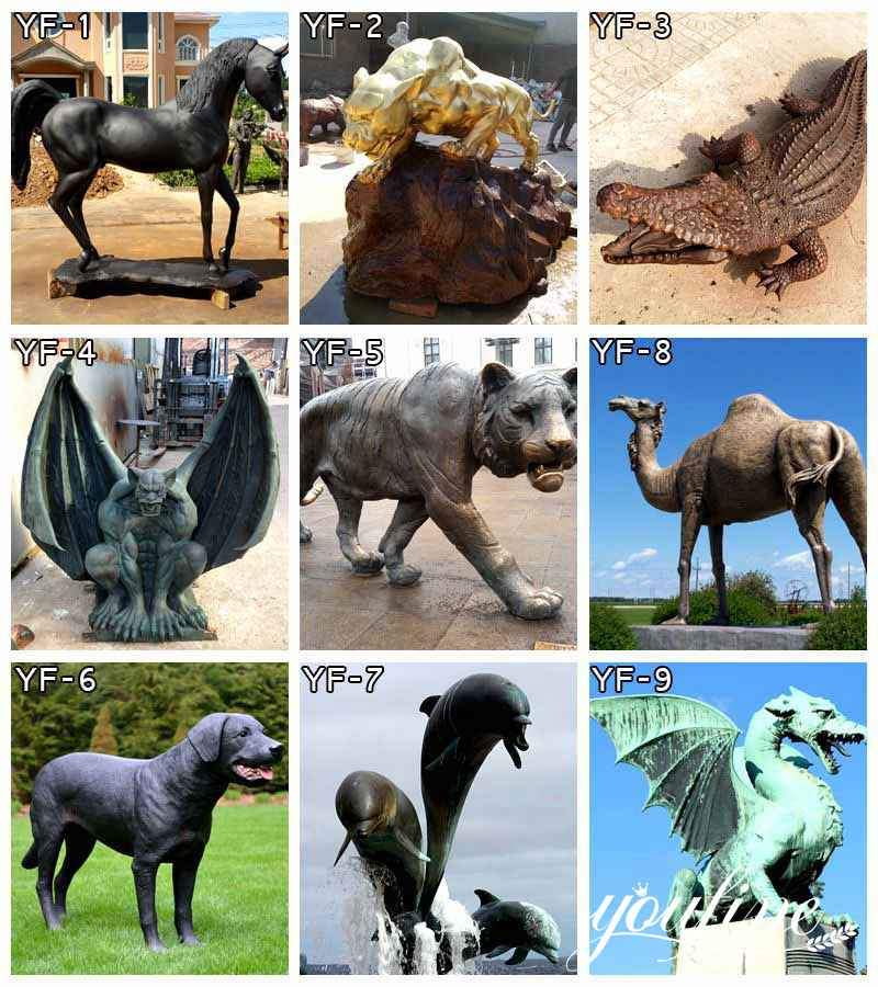 bronze-animal-statues for sale