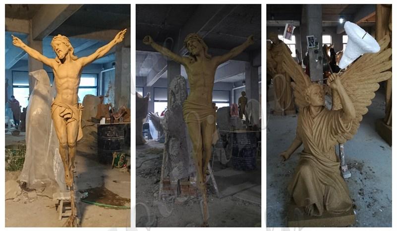 catholic marble statues