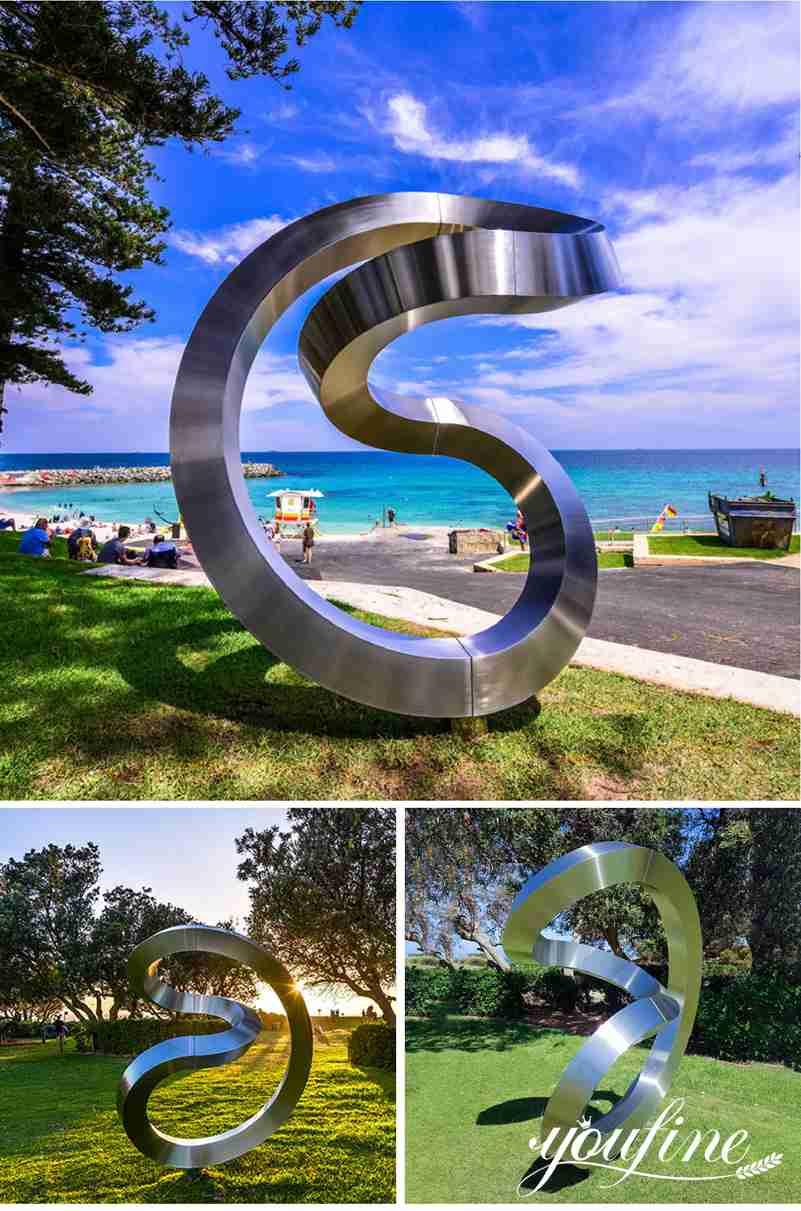 contemporary metal sculpture