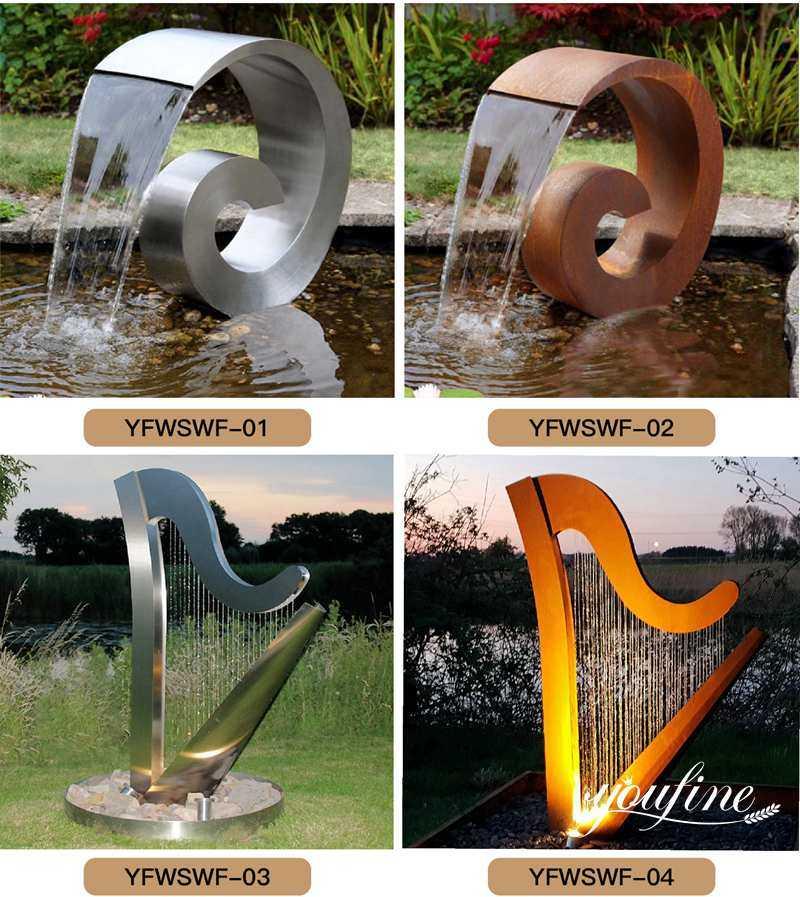 corten sculpture for sale