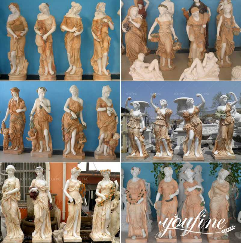 four seasons statues for sale