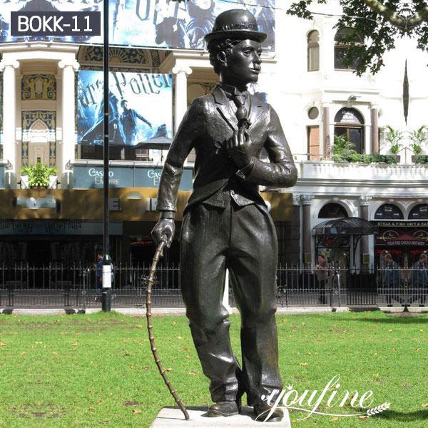 Bronze Charlie Chaplin Statue Custom Design Replica for Sale BOKK-11