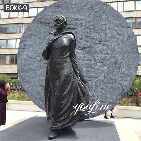 Bronze Mary Seacole Nurse Statue Square Memorial for Sale BOKK-09