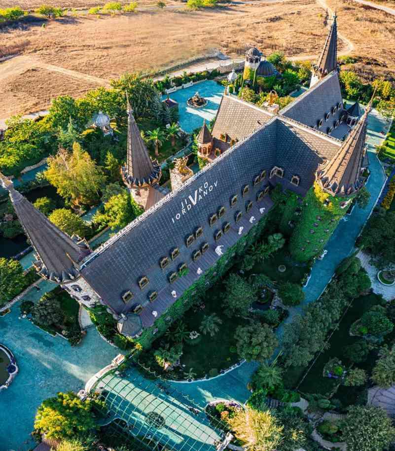 Bulgaria Castle Decoration Project 3