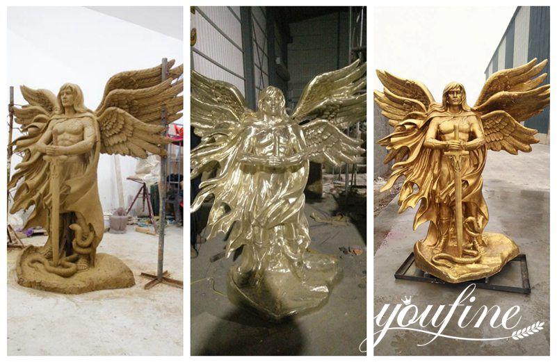 Custom Male Angel Bronze Statues