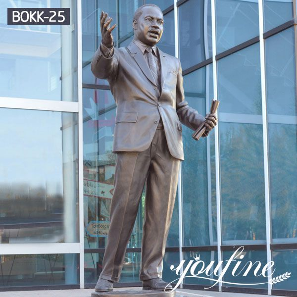Life Size Famous Bronze Martin Luther King Statue for Sale BOKK-25
