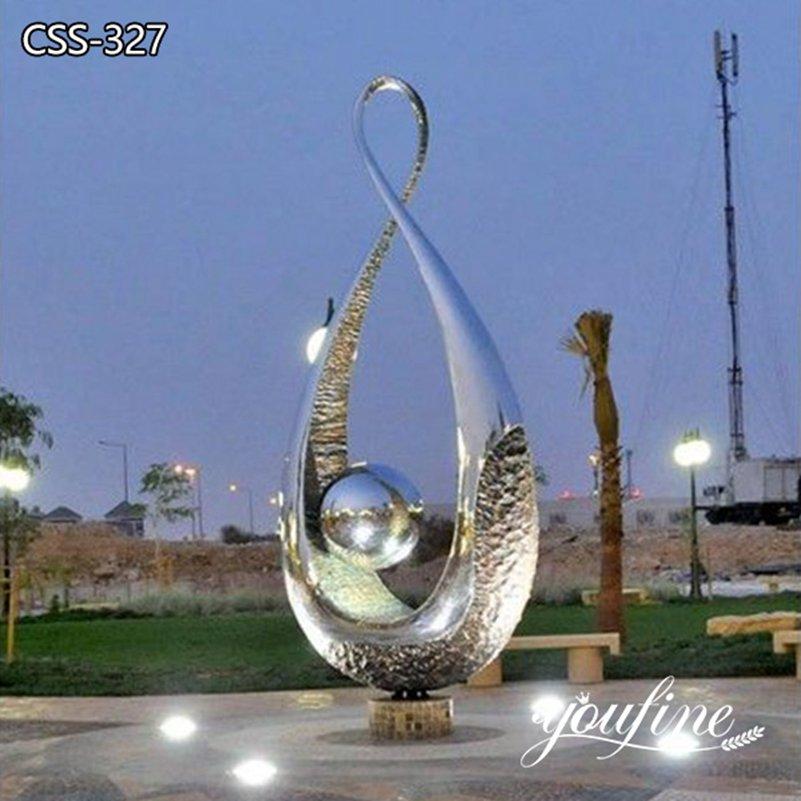 Garden Metal Outdoor Light Sculpture for Park for Sale CSS-327