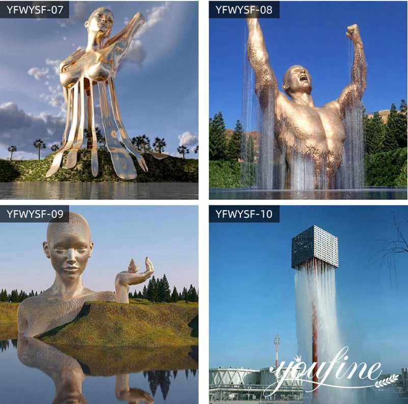 Large Metal Figure Sculptures