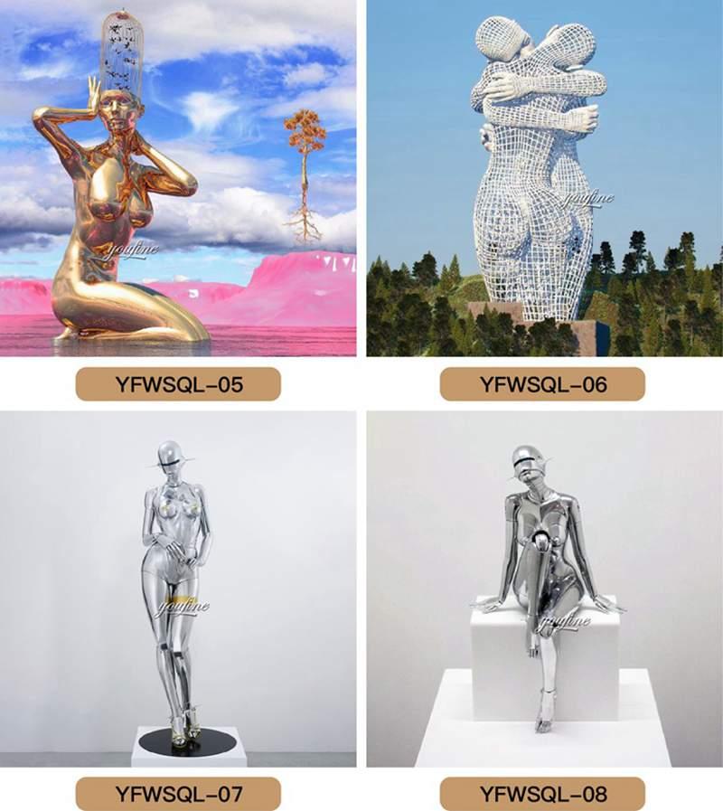 Metal figure sculpture for sale,