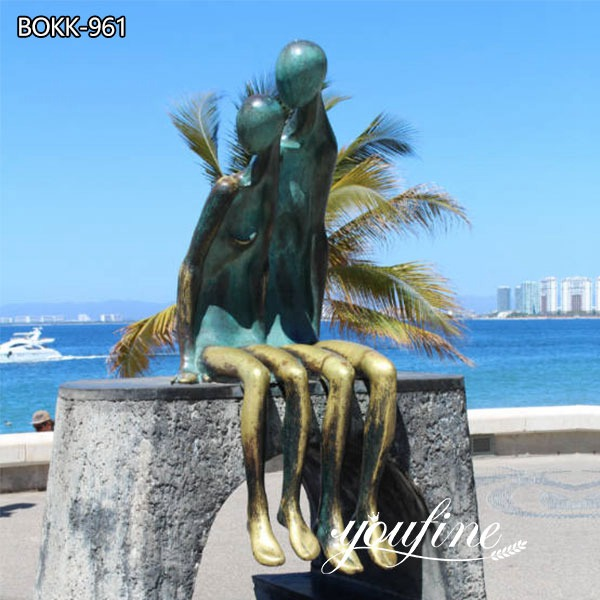 Life Size Modern Abstract Bronze Figure Sculpture for Sale BOKK-961