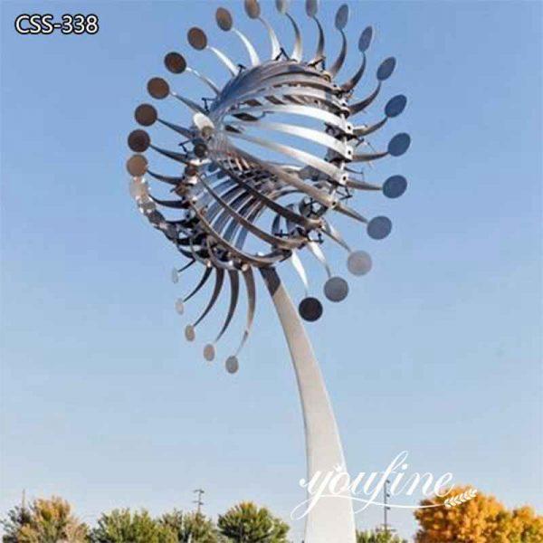 Outdoor Garden Stainless Steel Wind Sculpture for Sale CSS-338