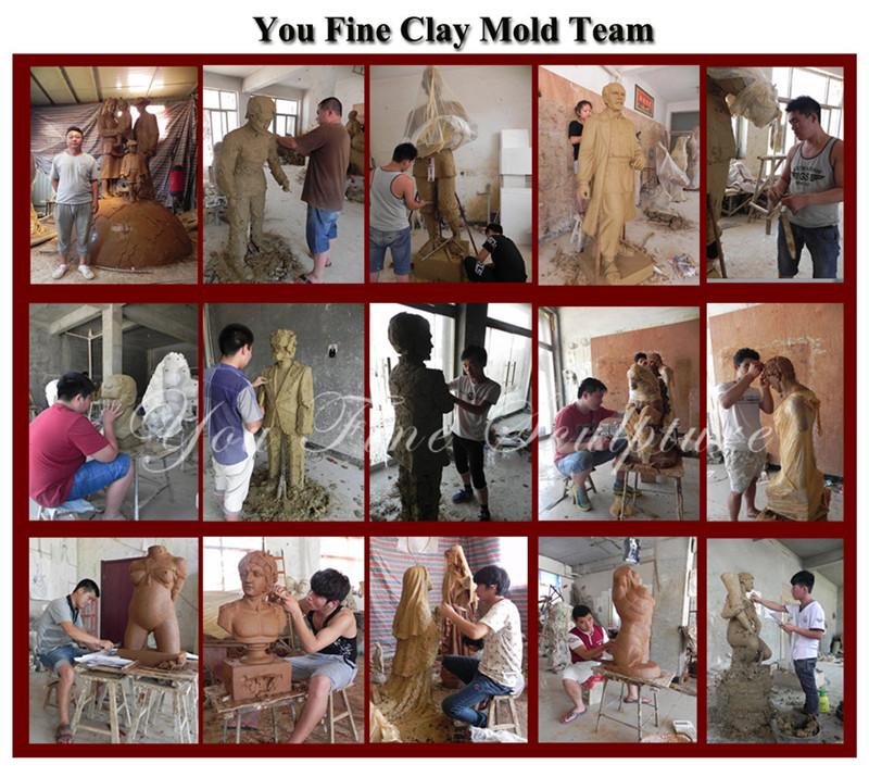 You Fine clay model studio