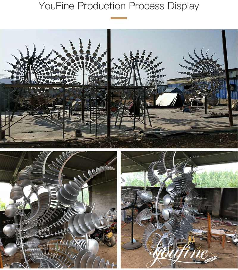 kinetic wind sculpture for sale