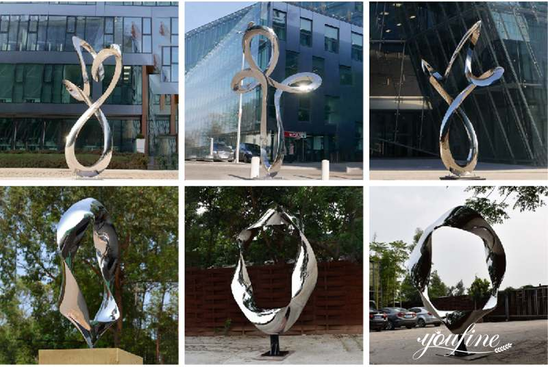 Abstract Metal Sculpture Factory