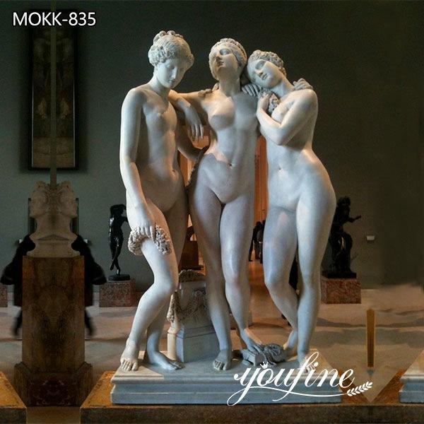Classic Life Size The Three Graces Garden Statue for Sale MOKK-835