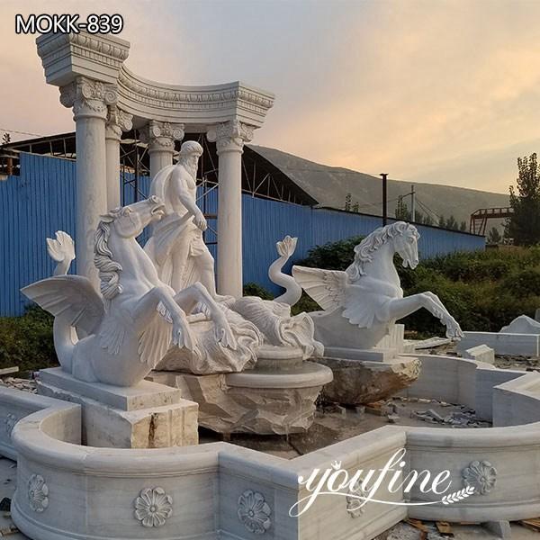 Classic Outdoor Marble Trevi Fountain Garden Decor