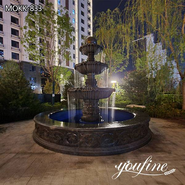 Marble Three Tiered Fountains Outdoor for Sale