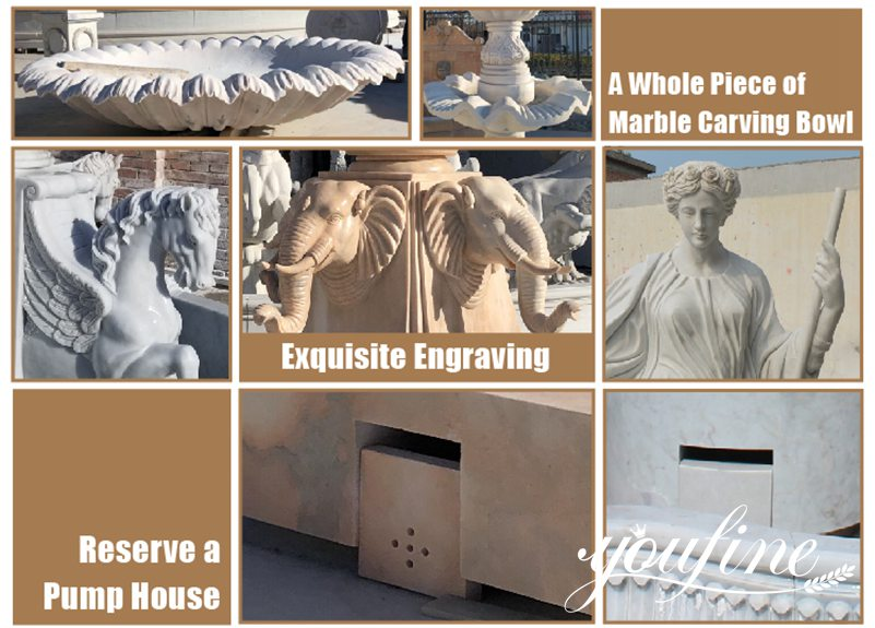 outdoor Trevi Fountain for sale