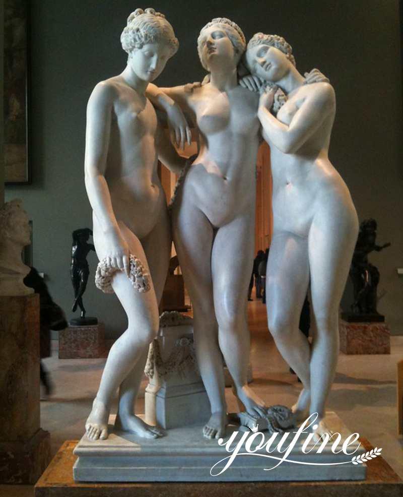 three graces statue for sale