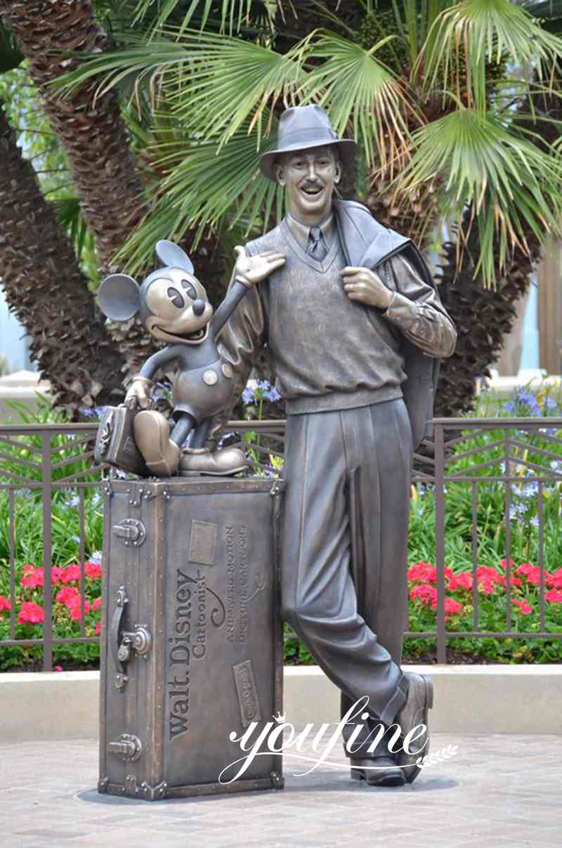 Bronze Disney Storytellers Statue Theme Park Decor for Sale