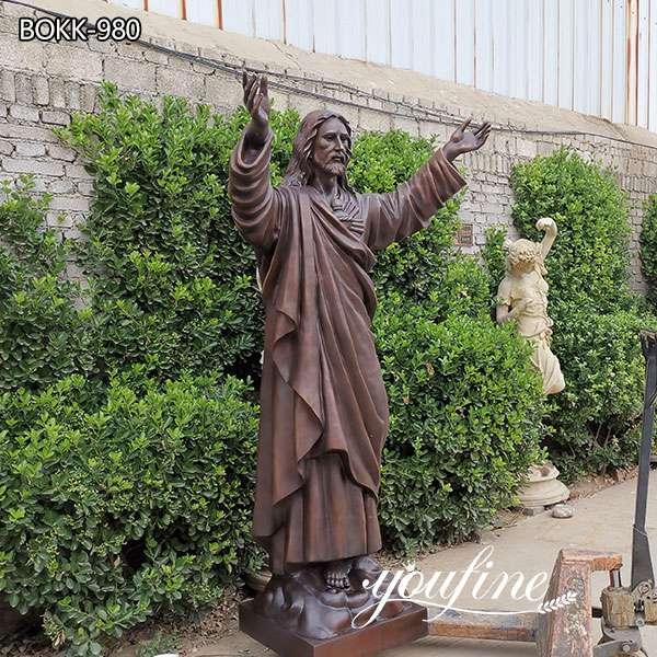 Catholic Life Size Bronze Jesus Christ Statue