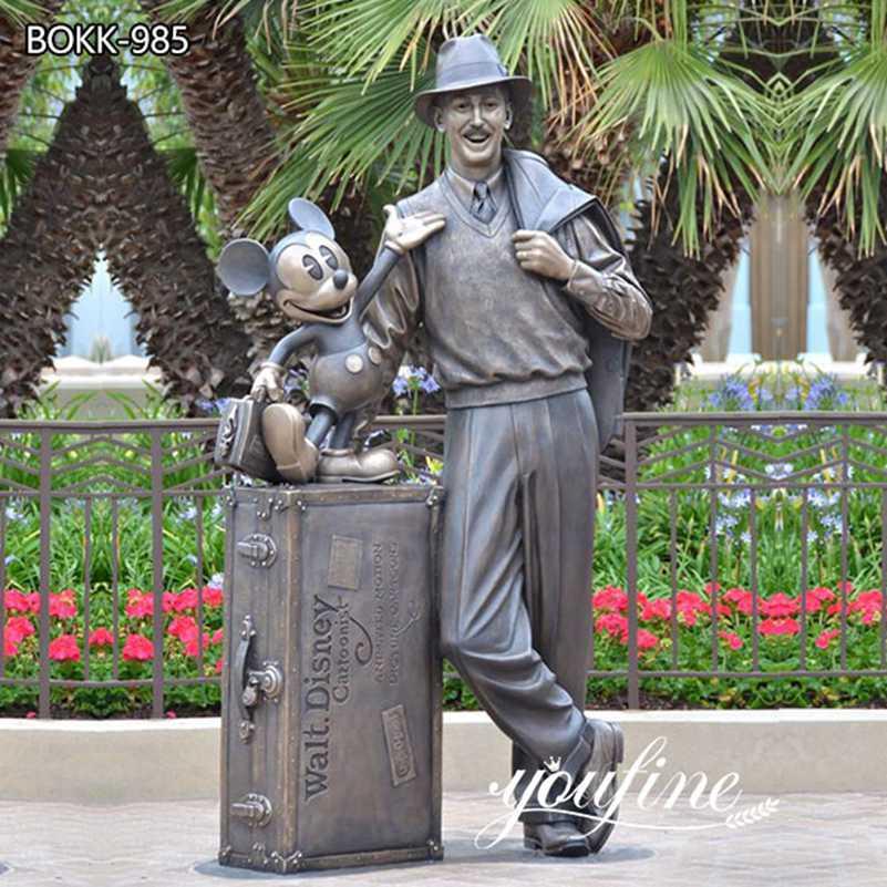 Custom Bronze Disney Storytellers Statue Theme Park Decor for Sale BOKK-985