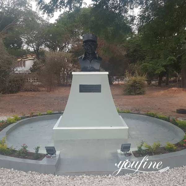 Custom Marble Bust Statue Highly Rated from Gambian Client